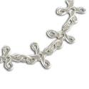 eternal knots anklet