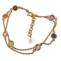 Well-being Chakra Armband Goudkleurig Half-edelstenen