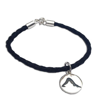 Dog Pose Yoga Bracelet 9.5 inches