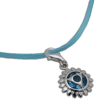Throat Chakra Necklace Turquoise Adjustable 16-17