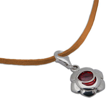 Sakralchakra Collier Orange 40-43 cm
