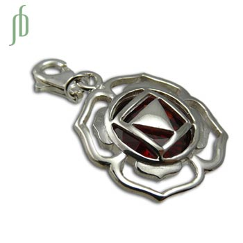 Good Vibes Root Chakra Stone Charm 20 mm