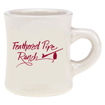 Feathered Pipe Ranch Ceramic Mug