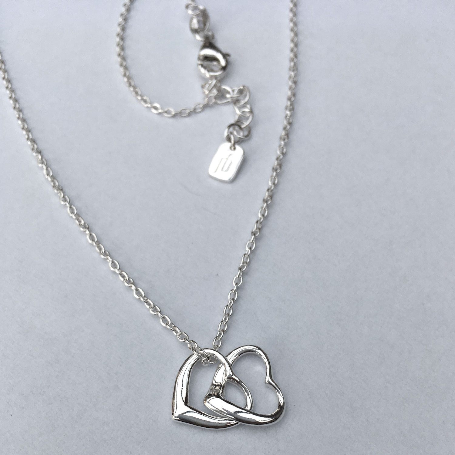 herz kette silber 40 42 cm love nature shanti boutique yoga spiritueller schmuck. Black Bedroom Furniture Sets. Home Design Ideas