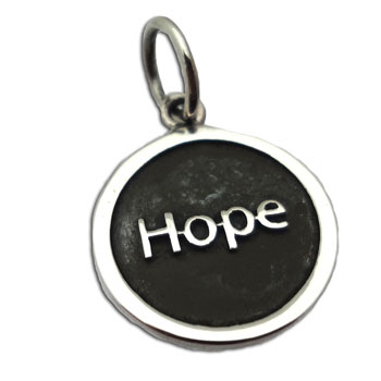 Hope Pendant Silver 15 mm