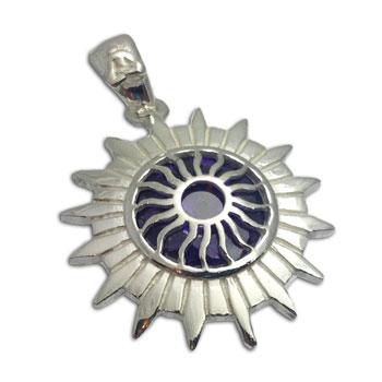 Good Vibes Crown Chakra Stone Pendant