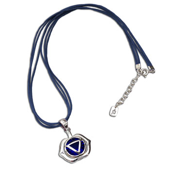 Forehead Chakra Necklace Blue