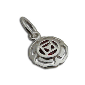 Root Chakra Charm with 5 mm jump ring